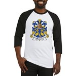 Alleaume Family Crest  Baseball Jersey