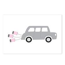 Newleywed Car Postcards (Package of 8)
