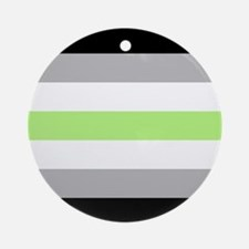 Agender Pride Flag Ornament (Round)