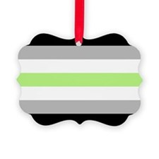 Agender Pride Flag Ornament