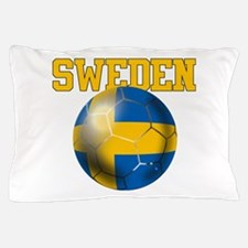 Sweden Football Pillow Case