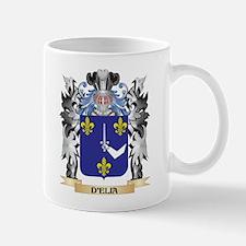 D'Elia Coat of Arms - Family Crest Mugs