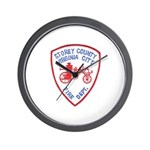 Virginia City Fire Department Wall Clock