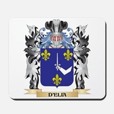 D'Elia Coat of Arms - Family Crest Mousepad