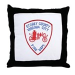 Virginia City Fire Department Throw Pillow