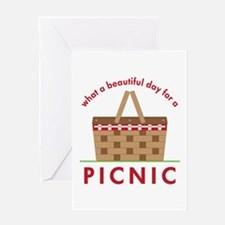Day For Picnic Greeting Cards