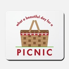 Day For Picnic Mousepad