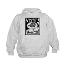 Zombies / Delicious Brains Hoodie