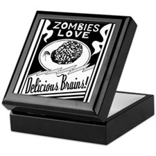 Zombies / Delicious Brains Keepsake Box