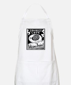 Zombies / Delicious Brains BBQ Apron