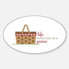 Life Is Picnic Decal