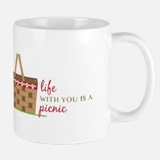 Life Is Picnic Mugs