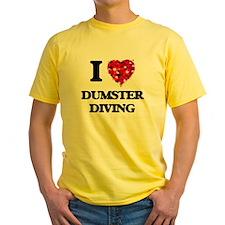 I love Dumster Diving T