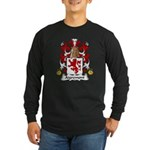 Aigremont Family Crest Long Sleeve Dark T-Shirt
