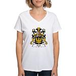Aigle Family Crest Women's V-Neck T-Shirt