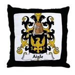 Aigle Family Crest Throw Pillow