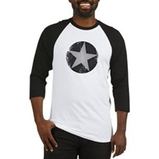 circle n star faded Baseball Jersey