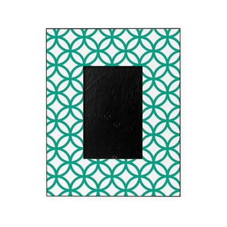 Green Decorative Pattern Picture Frame