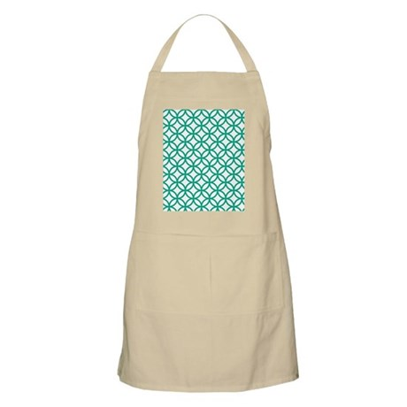 Green Decorative Pattern Apron