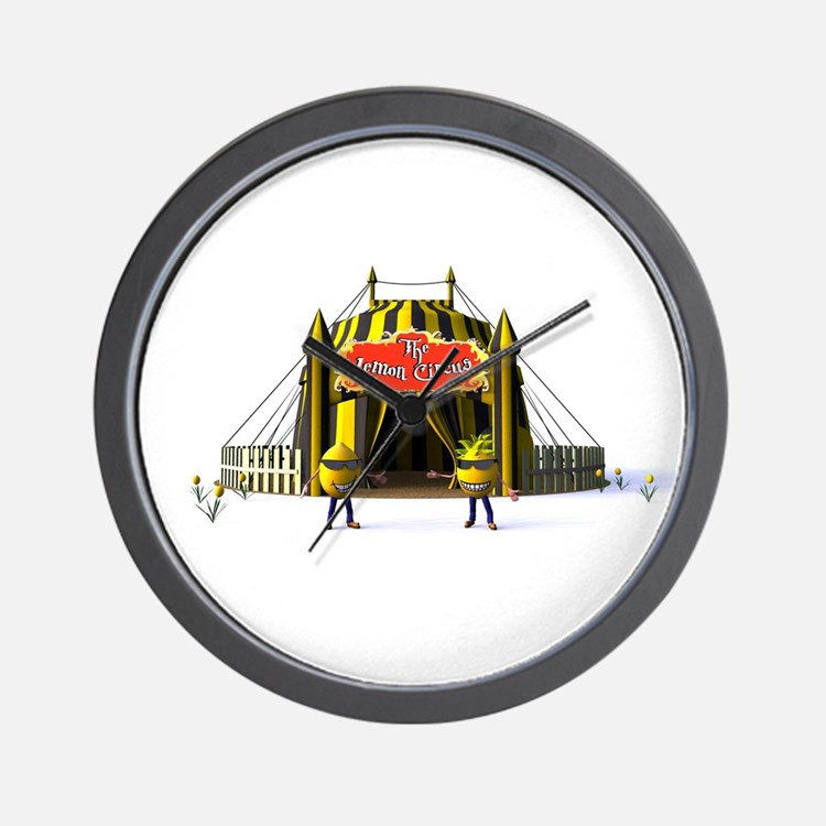 The Lemon Circus Wall Clock