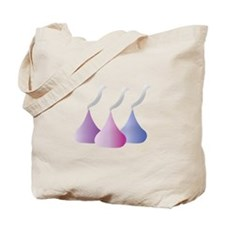 Chocolate Kiss Tote Bag