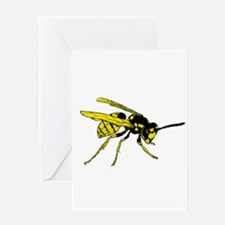 Funny Wasp Greeting Card