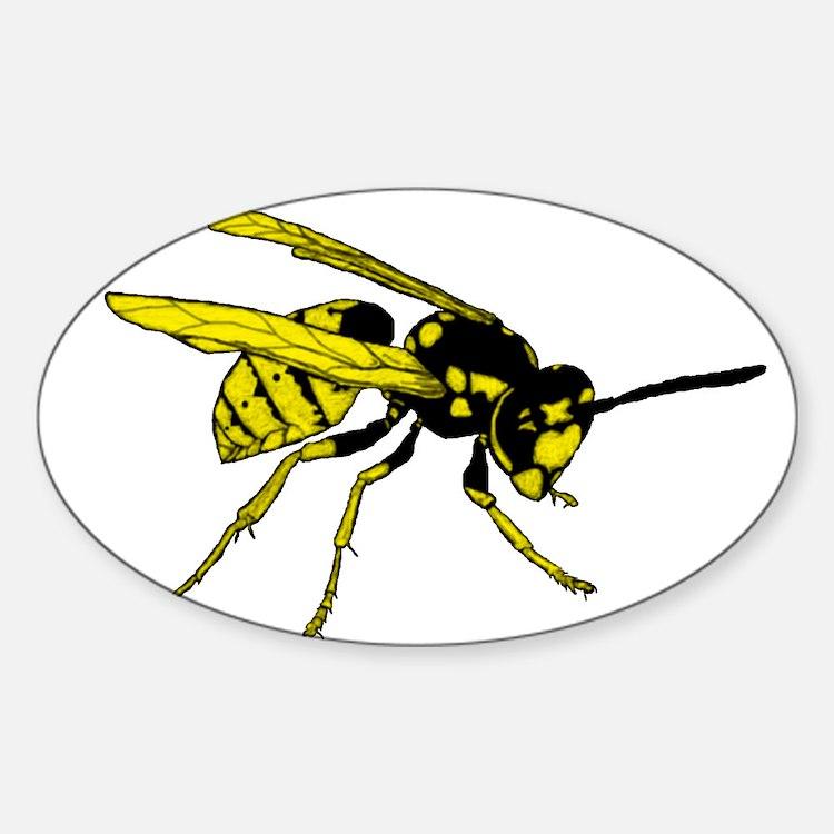 Cute Lifelike Sticker (Oval)