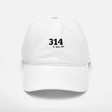 Area Code 314 St. Louis MO Baseball Baseball Baseball Cap