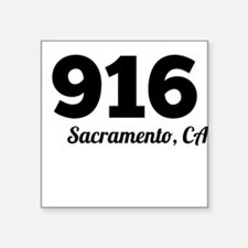 Area Code 916 Sacramento CA Sticker
