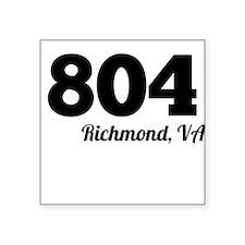 Area Code 804 Richmond VA Sticker