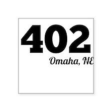 Area Code 402 Omaha NE Sticker