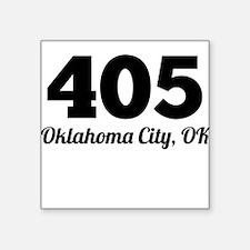 Area Code 405 Oklahoma City OK Sticker