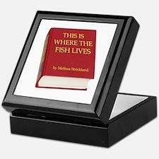 Fish Book Keepsake Box