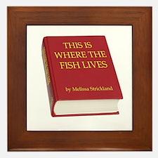 Fish Book Framed Tile
