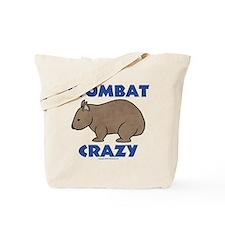 Wombat Crazy II Tote Bag