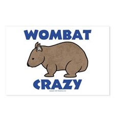 Wombat Crazy II Postcards (Package of 8)