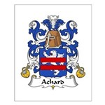 Achard Family Crest Small Poster