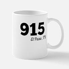 Area Code 915 El Paso TX Mugs