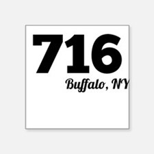 Area Code 716 Buffalo NY Sticker