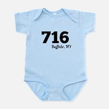 Area Code 716 Buffalo NY Body Suit