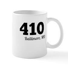 Area Code 410 Baltimore MD Mugs