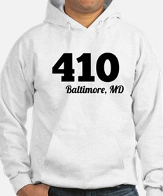 Area Code 410 Baltimore MD Hoodie