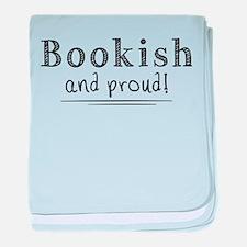 Unique Book lover baby blanket