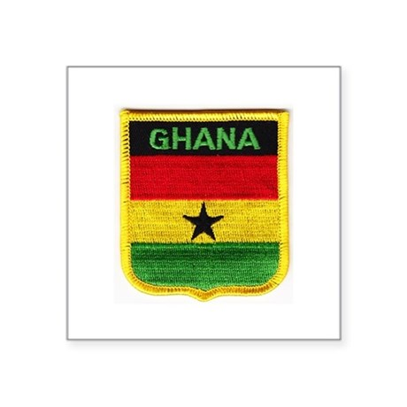 Ghana flag sticker by admin cp130176361 for Ghana flag coloring page