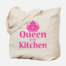 Queen Of Kitchen Tote Bag