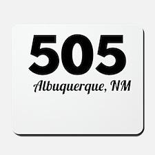 Area Code 505 Albuquerque NM Mousepad