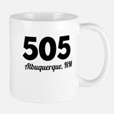 Area Code 505 Albuquerque NM Mugs