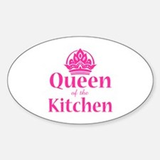 Queen Of Kitchen Decal
