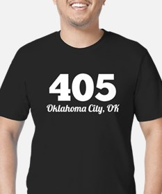 Area Code 405 Oklahoma City OK T-Shirt