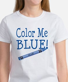 Color Me Blue! Women's T-Shirt